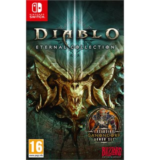 Diablo 3 Eternal Collection Switch Inkl eksklusive Nintendo Switch bonuser